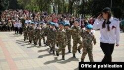 Парад дошкольных войск в Пятигорске