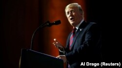 Presidenti amerikan, Donlad Trump.