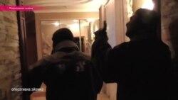Одесский судья отстреливается от полиции (оперативная съемка)
