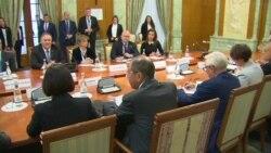 Встреча Майка Помпео с Сергеем Лавровым