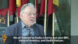 Former Lithuanian Head Of State On RFE/RL In The Baltics