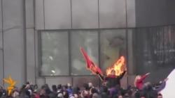 Përplasje të dhunshme në Prishtinë