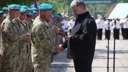 Морська піхота України: з новими беретами і святковою датою (відео)