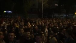"""Skoplje: Demonstranti poručili """"Gotovo je Nikola"""""""