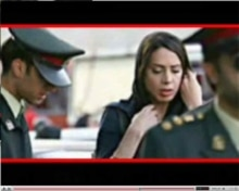 Iran - screen grab of Internet video