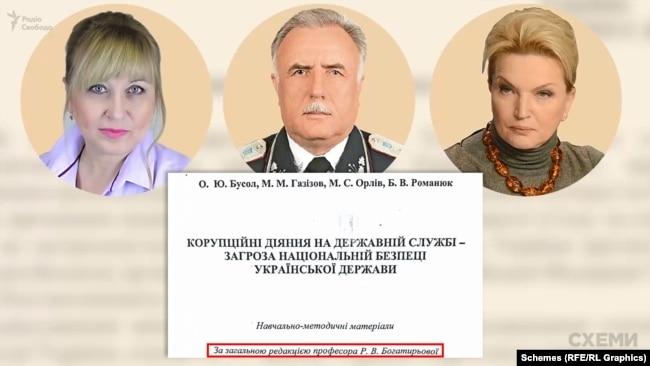 Двоє членів комісії з відбору голови САП – Романюк та Бусол – спільно з тодішньою секретаркою РНБО Богатирьовою видали книгу про боротьбу з корупцією