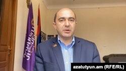 Глава фракции «Просвещенная Армения» Эдмон Марукян