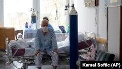 Pacijenti u izolatoriju Opće bolnice u Sarajevu