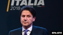 Italy's new Prime Minister Giuseppe Conte