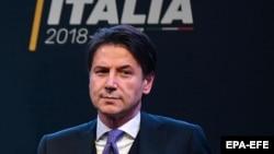Italy's new Prime Minister Giuseppe Conte