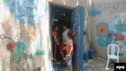 پناهگاهی در اسراییل که در جریان جنگ حزب الله و اسراییل مورد استفاده قرار می گرفت.