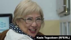 Журналист Розлана Таукина, редактор сайта Rezonans.kz. Алматы, 5 июня 2017 года.
