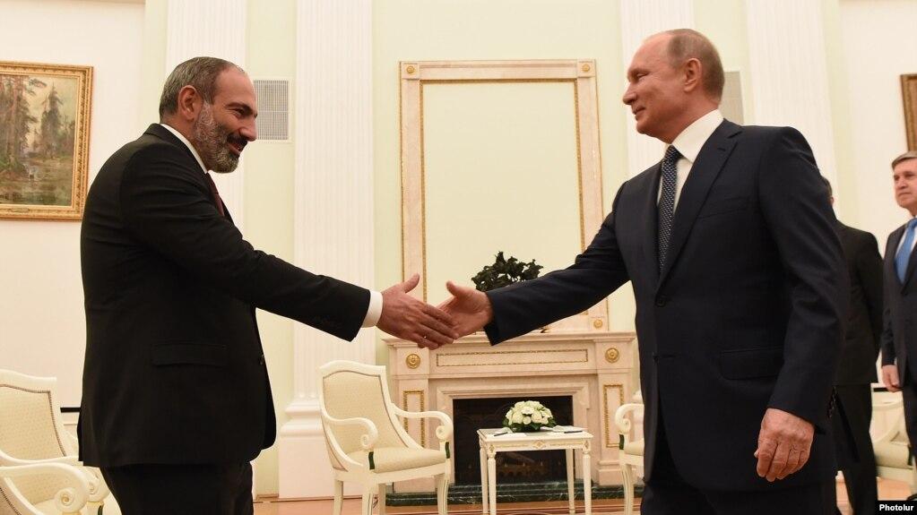 Президент России Владимир Путин поздравил Никола Пашинян с днем рождения