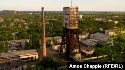 «Центральная» шахта в Мирнограде, май 2017 года