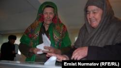 Оштағы сайлау. Қырғызстан, 4 наурыз 2012 жыл.