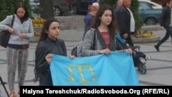 Акція пам'яті жертв депортації кримських татар, Львів, 18 травня 2018 року