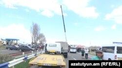 Այսօր փակ են եղել մարզերից Երևան բերող գրեթե բոլոր ավտոճանապարհները