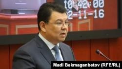 Қанат Бозымбаев, Қазақстан энергетика министрі.