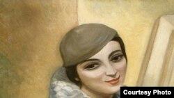 """Сергей Судейкин, """"Портрет Нины Шик"""", 1937 г. - один из экспонатов выставки"""