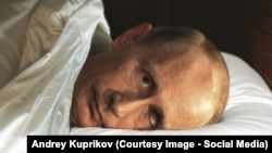 Is Russian leader Vladimir Putin an ailing and psychologically disturbed man? (photo illustration)