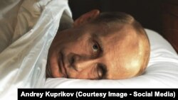 Putin veghează, fragment de animaţie.