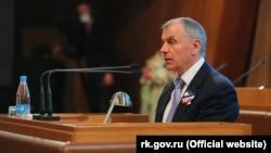 Председатель подконтрольного России парламента КрымаВладимир Константинов