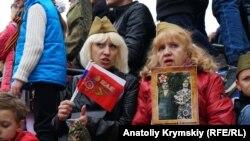Мероприятия, приуроченные к российскому Дню победы в Симферополе, 9 мая 2019 года