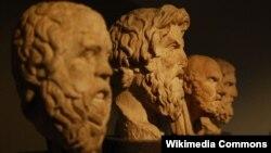 Бюсты греческих философов