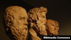 Sokrat, Antisfen, Kristipp, Epikür (qədim yunan filosofları)