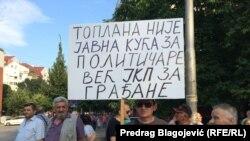 Protest Nišlija, foto: Predrag Blagojević