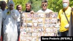 Sa protesta građana Beransela u julu 2012.