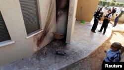 Уламок ракети, яка впала у Сдероті, 21 березня 2013 року