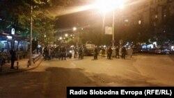 Протести у Скоп'є, Македонія, 13 квітня 2016 року