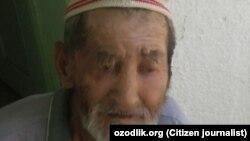 Врачи онкологической больницы города Андижана отказались принимать 77-летнего больного раком Абдушукура Юлдашева.