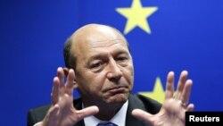 Traian Băsescu la Bruxelles în 2010