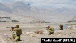 На участке таджикско-афганской границы. Иллюстративное фото.