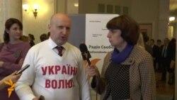 «Януковичу треба зрозуміти, що українці – не кріпаки» – Турчинов