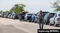 На админгранице с Крымом работают три контрольных пункта – «Каланчак», «Чонгар» и «Чаплинка»