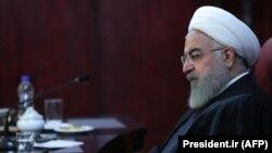 Presidenti i Iranit, Hassan Rohani. Foto nga arkivi.