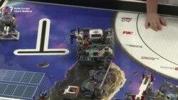 Concursul roboților din Lego la Chișinău