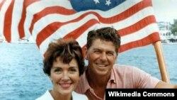 Ronald və Nancy Reagan. 1964. Kaliforniya