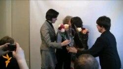 Тамара Сідарэнка на цырымоніі ўшанаваньня «чалавека году»