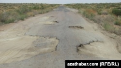 Gazojak-Daşoguz ýoly
