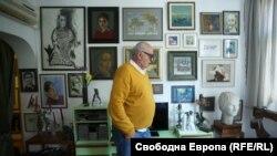 Атанас Киряков в дома си.