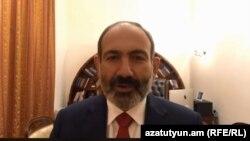 Исполняющий обязанности премьер-министра Армении Никол Пашинян (архив)
