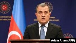 Министр иностранных дел Азербайджана Джейхун Байрамов, август 2020 г.