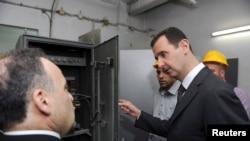 сиријскиот претседател башар ал Асад, Дамаск, 01.05.2013.