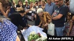 Николай Онищенкомен бақұлдасу рәсімі. Ақтөбе, 8 маусым 2016 жыл.