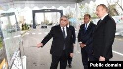 Prezident Yeni Daşkənd-Umudalılar avtomobil yolunun yenidənqurmadan sonra açılışında iştirak edib.