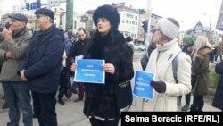 Protesti na Međunarodni dan borbe protiv korupcije, Sarajevo, 9. decembar, 2019.